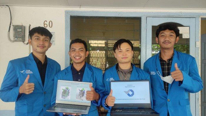 Keren, Tim Segoci Polman Bangka Belitung Juarai Lomba Rancang Bangun Tingkat Nasional