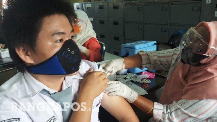 Pelajar di Empat SMA/SMK di Kabupaten Bangka Telah Jalani Vaksinasi, 25 Siswa Dinyatakan Reaktif