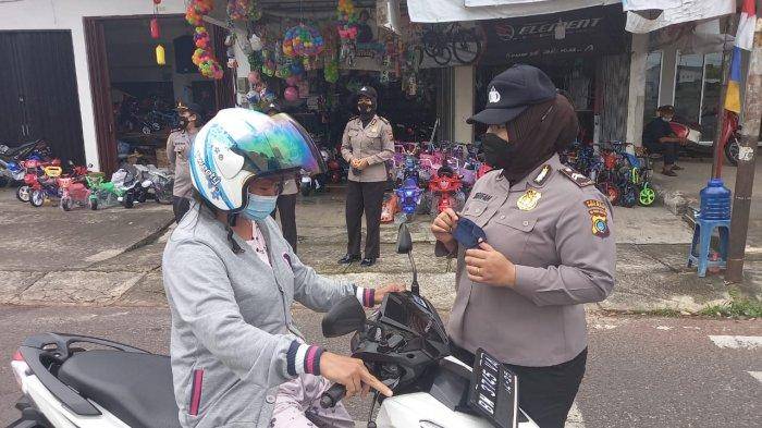 Polisi Wanita (Polwan) Polres Bangka Selatan, Briptu Syarifah Nuraini Sahab