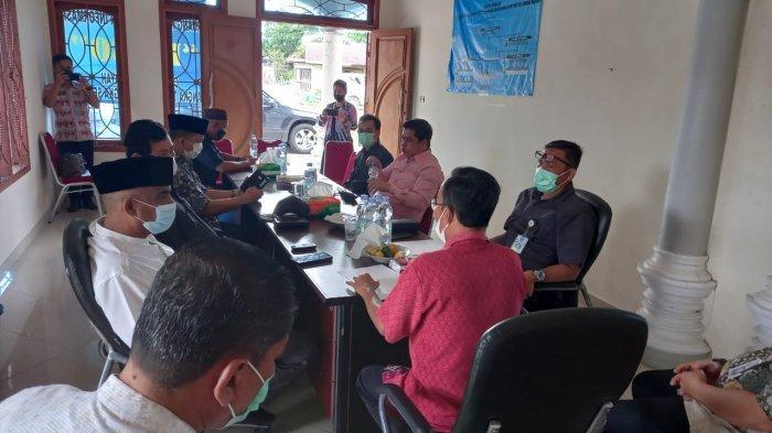 Komisi III DPRD Babel Kunjungi Cabdin ESDM di Bangka Tengah, Soroti Bangunan Yang Masih Ngontrak