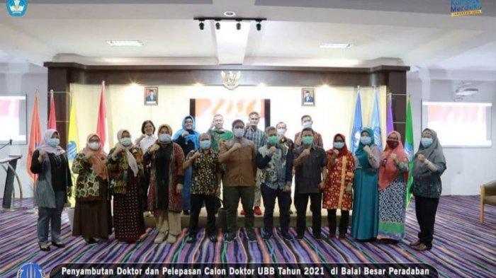 Sembilan Dosen UBB Tuntaskan Program Doktoral, 13 Menyusul, Dr Ibrahim: Akan Ada Multiple Effect