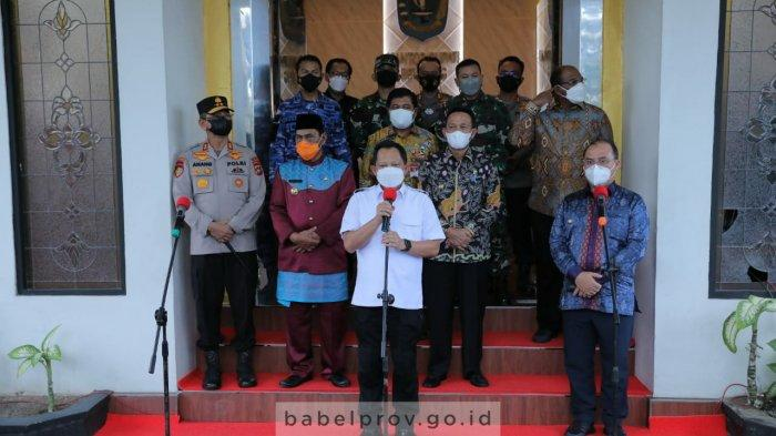 Mendagri Tito Karnavian Ingatkan Warga di Bangka Belitung Jangan Terlena, Waspadai Varian Delta