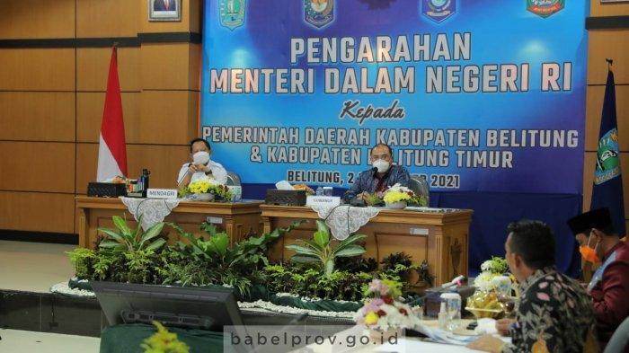 Terkait Kasus Covid-19 di Belitung, Mendagri Tito Karnavian Nilai Tidak Perlu di Lockdown