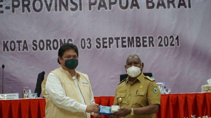 Penanganan Covid19 di Papua Barat Sudah Baik, Menko Airlangga Sebut Tinggal Dorong Pemulihan Ekonomi