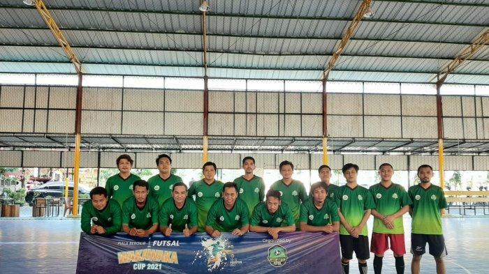 Jersey Pertama TIM Futsal IAIN SAS Bangka Belitung Resmi Diluncurkan, Terinspirasi Tenun