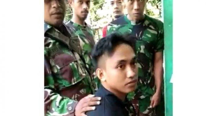 Kronologis Pratu Iqbal Selamat dari Tembakan KKB Papua, Menyelam di Dalam Sungai saat Pos Diserang