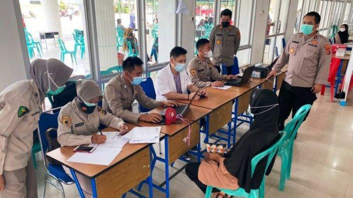 Polres Bangka Gandeng TNI, Ormas dan OKP Bersama Gelar Vaksin Covid-19