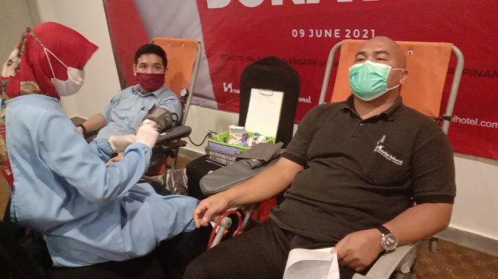 Dalam Rangka Ulang Tahun ke-3, Swiss-belHotel Pangkalpinang Lakukan Donor Darah