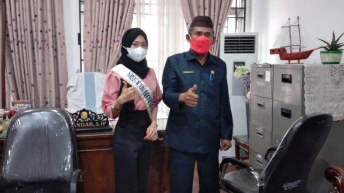 Gadis Sungailiat Ini Minta Dukungan, Novita Mayasari Masuk Finalis 5 Besar Miss Icon Indonesia 2021