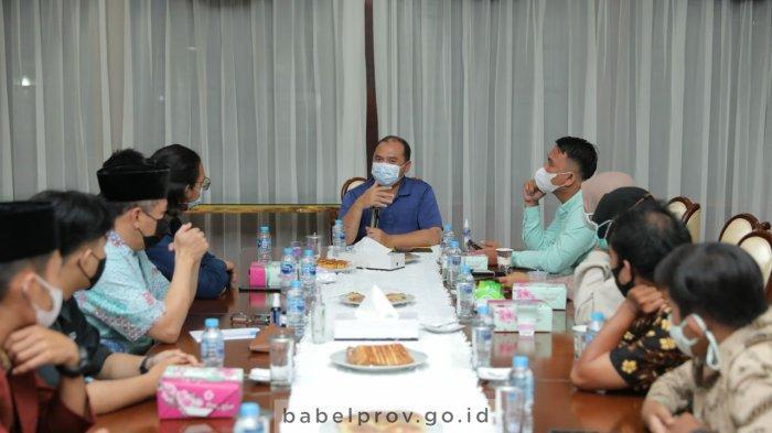 Gubernur Babel Erzaldi Undang Sejumlah Mahasiswa Diskusi, Presma UBB Tak Diajak