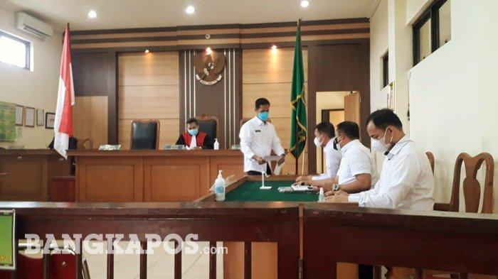 Terkait Perkara Pemalsuan Tandatangan, Hakim Tolak Gugatan Praperadilan Huzarni Rani