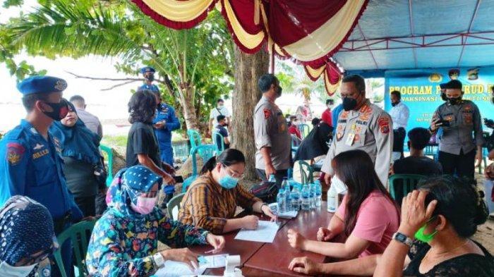 Target Hanya 200 Nelayan Pantai Tanjung Ular Muntok, Ternyata 400 Warga Minta Disuntik Vaksin