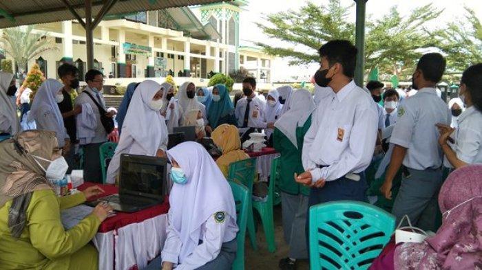 Jangan Takut Disuntik, Bangka Belitung Kejar Target Vaksinasi Covid-19