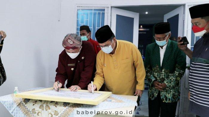 Gubernur Bangka Belitung Resmikan Klinik Pratama Muhammadiyah Muntok, Hadir Sesuai Spirit Pendiri