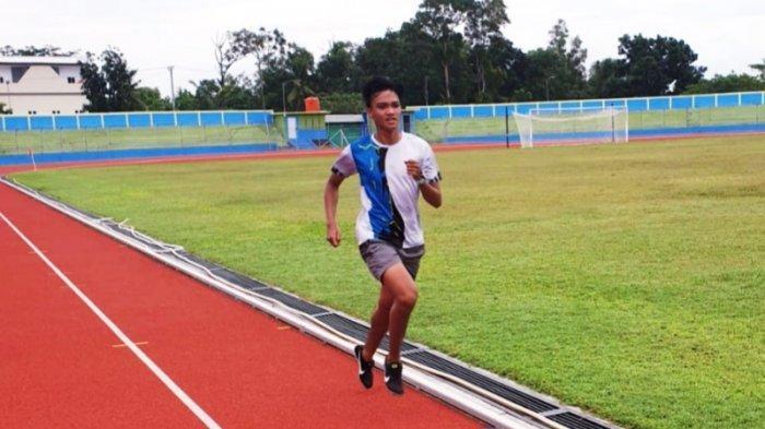 Ardianto Atlet Cabor Lari 1.500 Targetkan Bawa Medali Emas ke Bangka Belitung, Begini Persiapannya