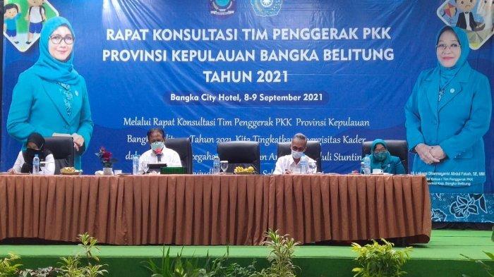 Sinergitas Dinkes Bangka Belitung Melalui Gerakan Keluarga Sehat, Tanggap dan Tangguh Bencana