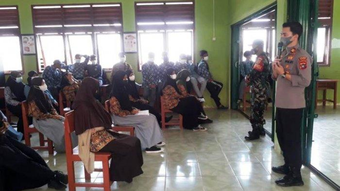 151 Murid MA Nurul Ikhsan dan SMP Negeri 3 Riausilip Divaksin