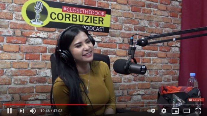 Maria Vania di Youtube Deddy Corbuzier