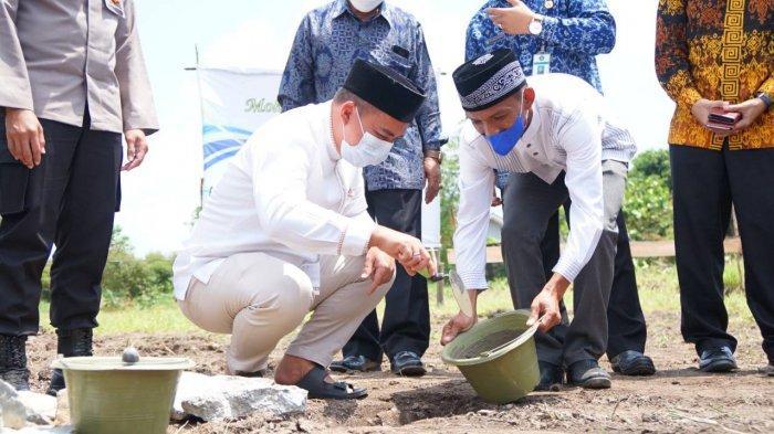 Peletakan Batu Pertama Masjid Baitur Rahman, Wali Kota: Tidak Ada yang Tidak Mungkin untuk Masjid