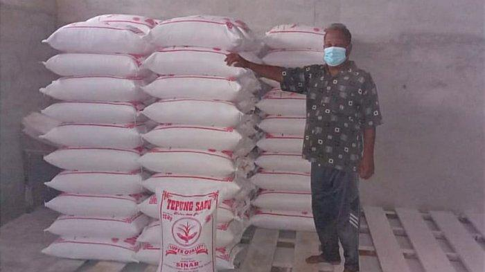 Usaha Mitra Binaan PT Timah Tbk, Tepung Sagu Sinar Dijual hingga Malaysia