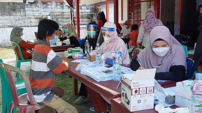PDI Perjuangan dan Rudi Center Targetkan 1000 Dosis Vaksin ke Masyarakat Bangka Barat