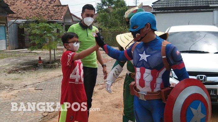 Hibur Anak-anak Hingga Lakukan Kegiatan Sosial Jadi Kepuasan Cosplayer di Pangkalpinang