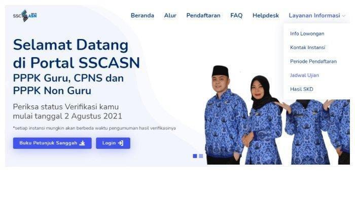 Informasi Lengkap Jadwal, Lokasi hingga Alamat Tes SKD CPNS 2021 di sscasn.bkn.go.id