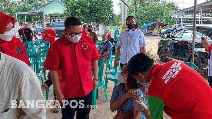PDIP dan Rudi Center Gelar Vaksinasi Massal, Ribuan Masyarakat Jadi Sasaran