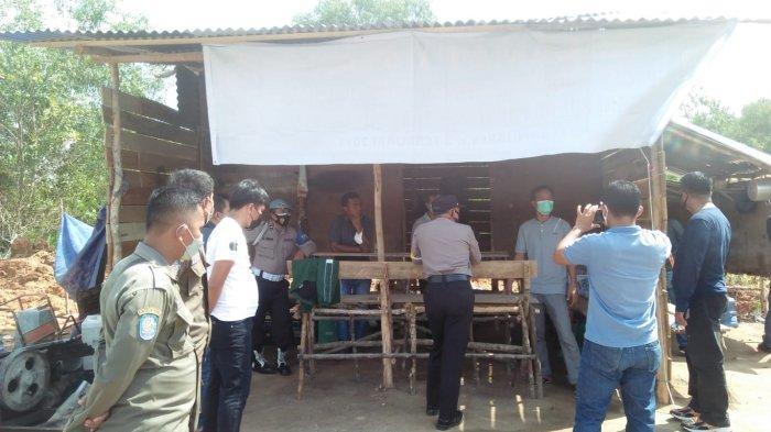 Timgab Datangi Aktivitas Tambang Ilegal di Bukit Kejora Desa Beluluk, Minta Segera Dihentikan