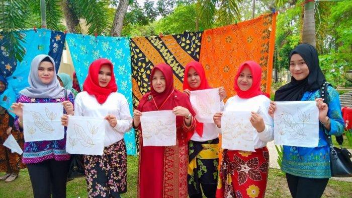 Batik Lapuan Tampil di Grand Final Duta Wisata, Karya Warga Binaan Lapas Perempuan Pangkalpinang