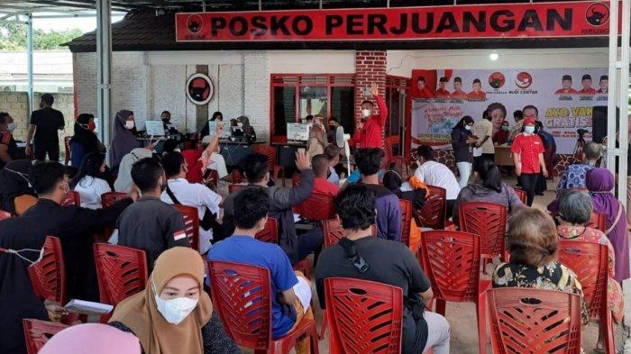 22-26 September, PDI-P Babel dan Rudi Center Kembali Gelar Vaksinasi Gratis di 4 Kabupaten/Kota