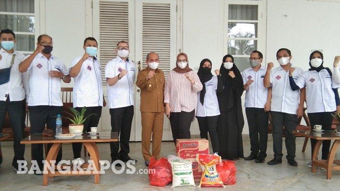 27 Pengusaha Sumbang Paket Sembako, PHRI Pangkalpinang Peduli Warga Terdampak Covid-19
