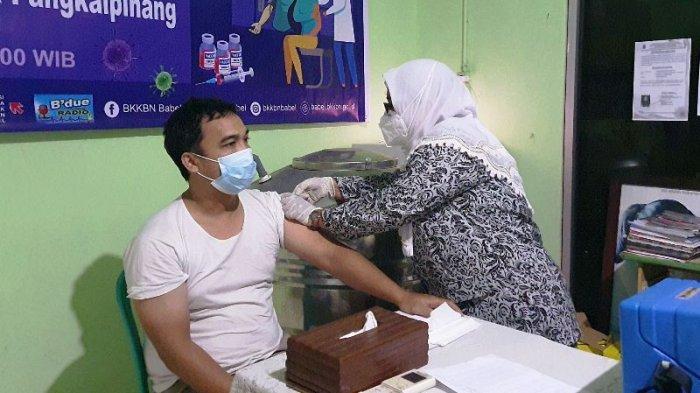 BKKBN Bangka Belitung Targetkan Vaksinasi 61 Ribu Orang, Program Vaksinasi Berbasis Keluarga