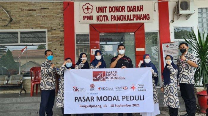 Ayo Donor Darah di PMI Pangkalpinang, BEI Babel Berikan Beras 5 Kg ke 500 Pendonor Melalui PMI