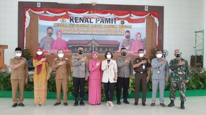 AKBP Moch Risya Resmi Jabat Kapolres Bangka Tengah, Penangan Covid-19 Jadi Fokus Utama