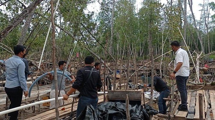 Penertiban TI Belo Laut, 4 Hektare Hutan Lindung Rusak, Kompol Evry: Tiap Razia Bocor Semua