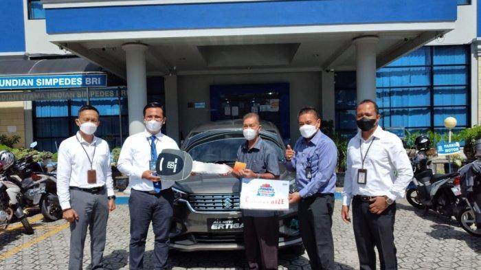 Penyerahan Hadiah Utama, Panen Hadiah Simpedes, Pedagang Kelontong Dapat Suzuki New Ertiga
