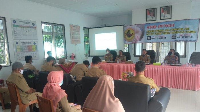 Jadikan Kabupaten Bangka Sebagai WBK, Sosialisasi Saber Pungli Gencar Dilakukan