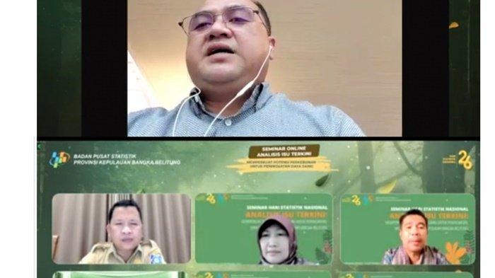 BPS Gelar Seminar Nasional Perkuat Potensi Perkebunan dan Peningkatan Daya Saing di Bangka Belitung