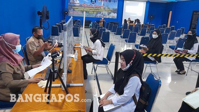 Nilai SKD Siska Nyaris Sempurna, 97 Peserta Lolos Passing Grade SKD CPNS Pemprov Bangka Belitung
