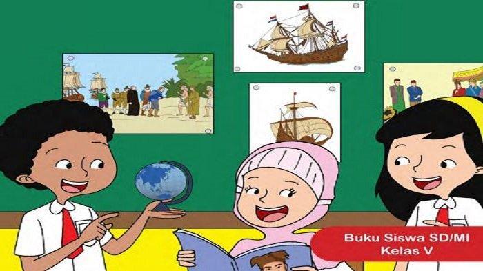 Kunci Jawaban Tema 7 Subtema 1 Kelas 5 SD/MI Halaman 2, 6, 7, 9, dan 10 Peristiwa Masa Penjajahan