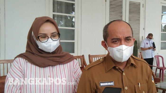 Ditantang Mendagri, Wali Kota Pangkalpinang Langsung Tunjuk Tangan, Genjot Vaksinasi Covid-19