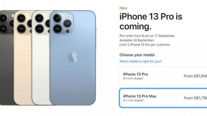 Spefisikasi iPhone 13, iPhone 13 Mini, iPhone 13 Pro dan iPhone 13 Pro Max