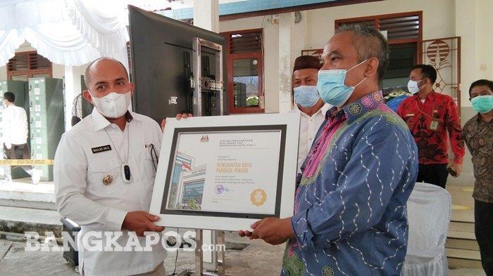 Pemkot Pangkalpinang Terima Penghargaan dari BKN Awards 2021