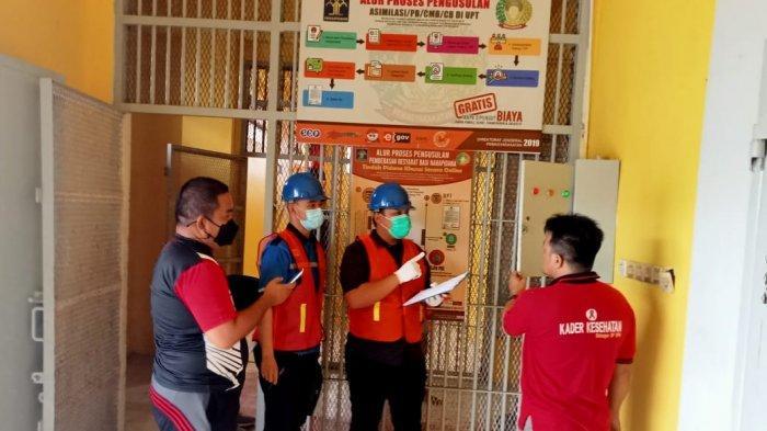 Antisipasi Kebakaran, Lapas Narkotika Pangkalpinang Gandeng PLN dan Konsuil, Cek Instalasi Listrik
