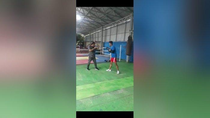 Ketua dan Sekretaris Pertina Bangka Belitung Targetkan Atlet Tinju Ilham Raih Medali di Pon Papua