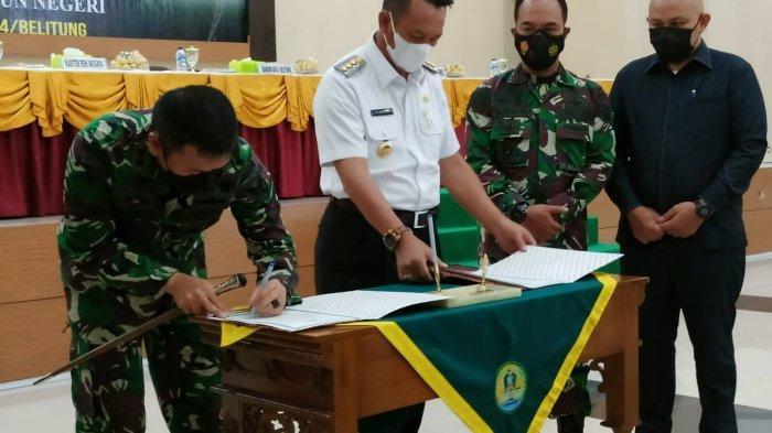 Burhanudin Buka Program ke-112 TMMD Kodim 0414 Belitung, Begini Kegiatannya
