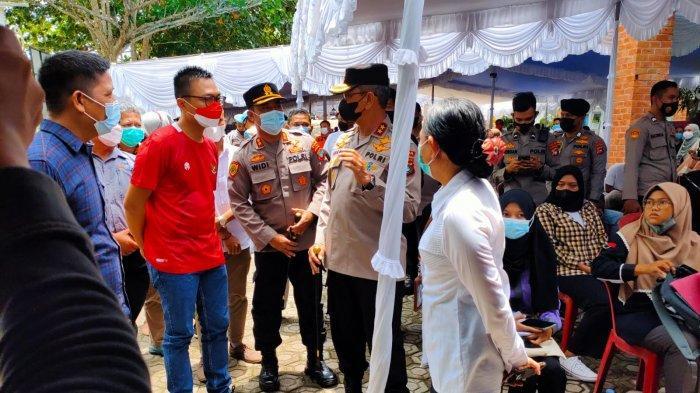 Kerjasama Staf Khusus Presiden, Polda Bangka Belitung Gelar Vaksin Mahasiswa