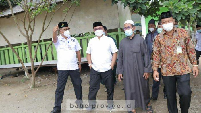 Suasana Pesantren Harus Bikin Santri Betah dan Semangat, Gubernur Kunjungi Ponpes Daar Muttaqien