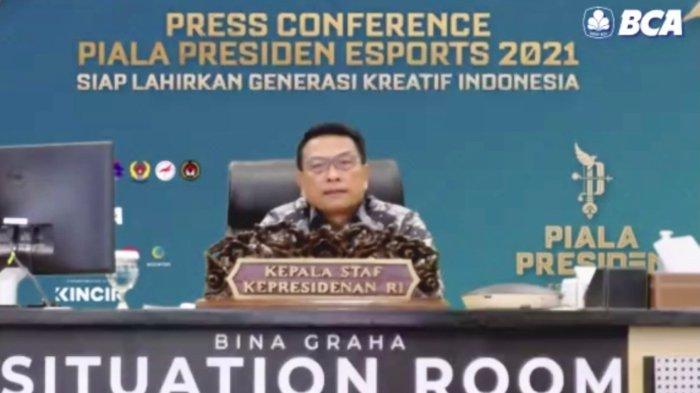Indonesia Harus Siap Jadi Leader Dunia, Moeldoko Pastikan Piala Presiden Esports 2021 Siap Digelar